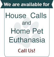 We're Available for Housecalls!